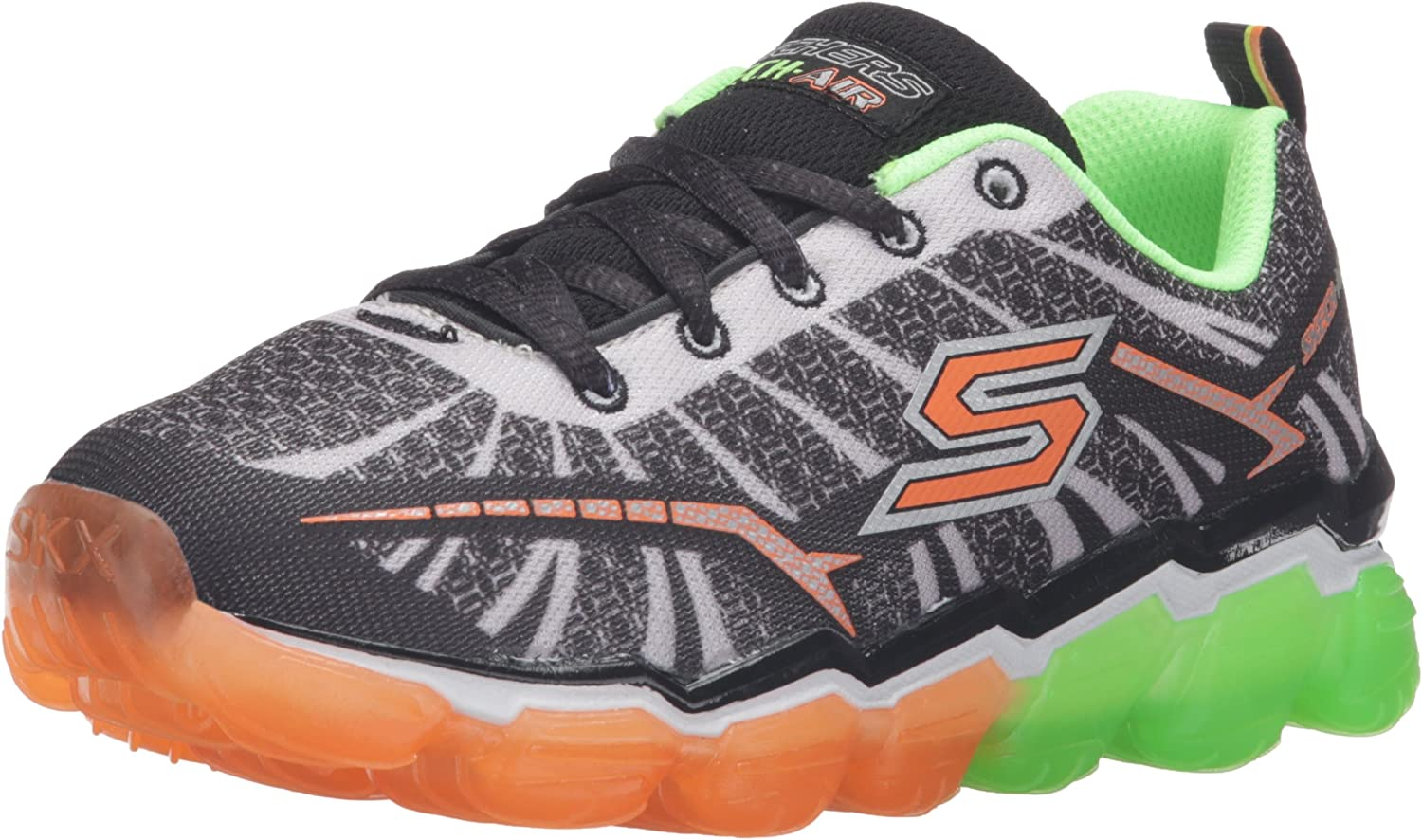 Skechers Kids Boys Boys Boys Skech Air Turbo Shock Turnschuhe (Little Kid Big Kid), schwarz Lime, 4.5 M US Big Kid B01AJE262Q  Sehr gute Klassifizierung 017994