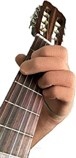 Guitar Glove, Bass Glove, Musician's Practice Glove -S- one - fits either hand - COLOR: SKIN TAN