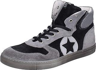 EB Sneaker Bambino Pelle Scamosciata Grigio
