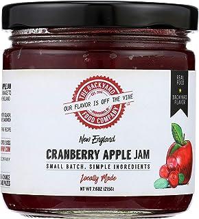 The Backyard Food Company, New England Cranberry Apple Jam, 7.6 oz Jar