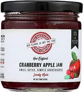 The Backyard Food Co, Jam New England Cranberry Apple, 7.6 Ounce