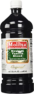 Mexican Vanilla Blend By Molina Vainilla, 33.3 Oz / 1000 Ml (Vanillin Extract) by Molina Vanilla (33.3 Fl Oz)
