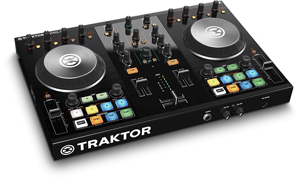嫌い同種の疲れたNative Instruments 2デッキDJシステム TRAKTOR KONTROL S2 MK2