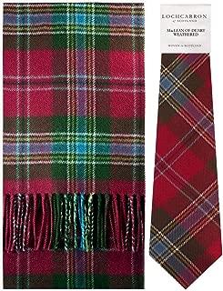 Scarf & Tie Gift Set MacLean Of Duart Weathered Tartan Scottish Clan