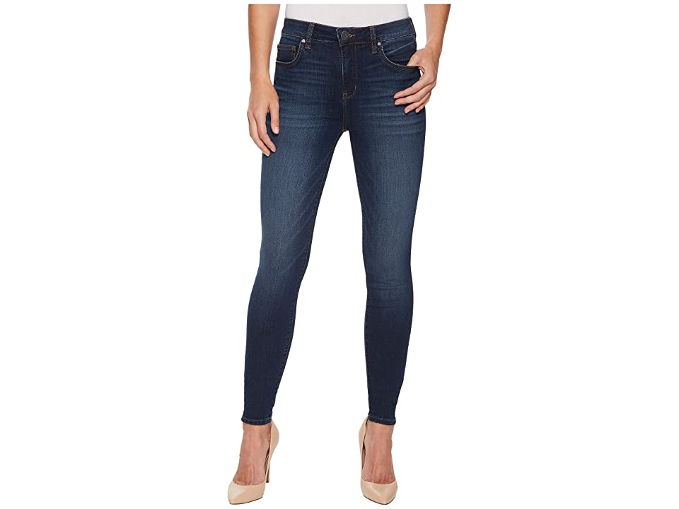 KUT from the Kloth Mia High-Waist Skinny in Goodly (Goodly/Stone Base Wash) Women