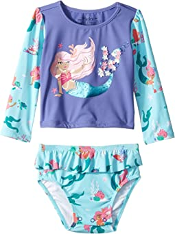 Mermaid Tales Rashguard Set (Infant)