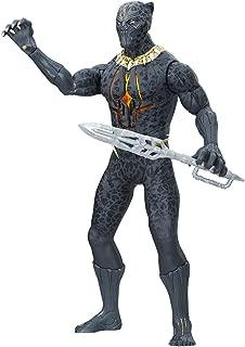 Marvel Black Panther Erik Killmonger Slash n Strike   13 inch height   Over 20 Phrases, Sounds, Special FX   battery operated