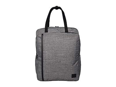 Herschel Supply Co. Travel Tote (Raven Crosshatch) Tote Handbags