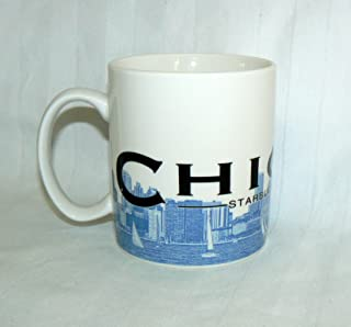 Starbucks Coffee 2002 Skyline Mug Chicago 16 oz.