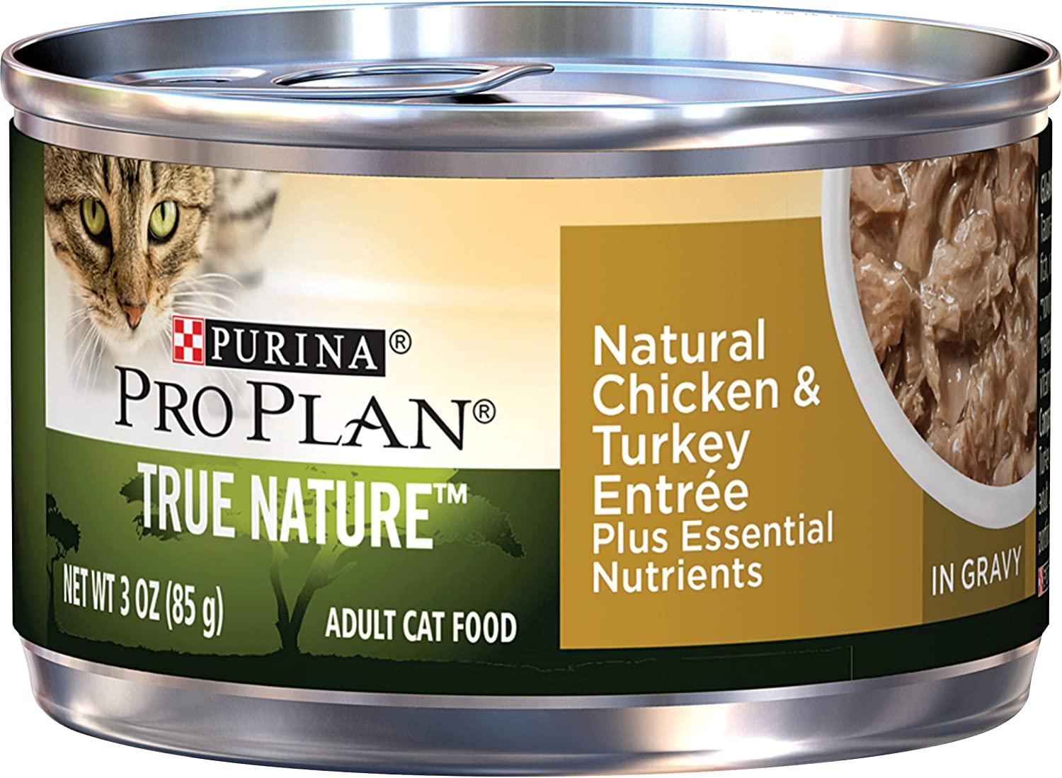 Purina Pro Plan True Nature Max Fresno Mall 54% OFF High Adult Wet Natural Cat Protein