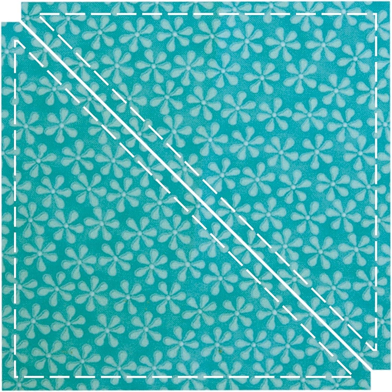 AccuQuilt 55001 55001 55001 Stanzform Triangle 6 1 2 Zoll Dreieck circa 16,5 cm B0021FADBS     | Moderne und stilvolle Mode  c2ac41