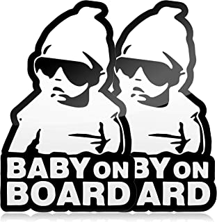 Baby On Board Stickers For Tinted Windows
