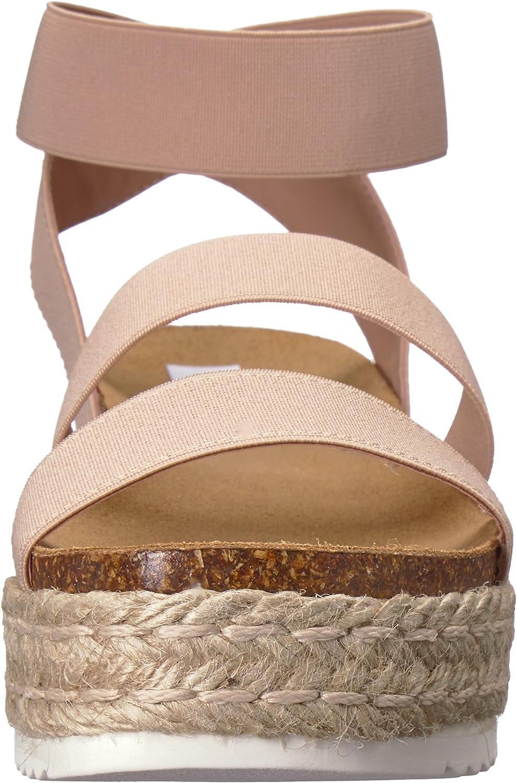 Steve Madden Womens Kimmie Espadrille Wedge Sandal