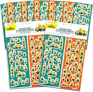 Despicable Me Minions Stickers Party Favor Pack -- 600 Stickers, 24 Sticker Sheets (Party Supplies)