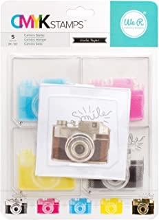 American Crafts R Memory Keepers CMYK Stamps Camera