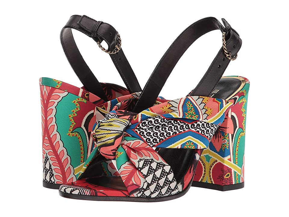 Etro Printed Sandal (Multi) Women