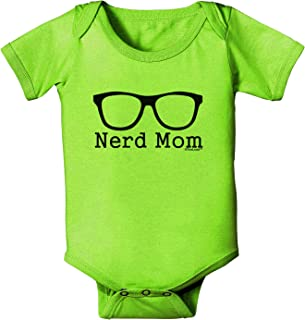 Nerd Mom - Glasses Baby Romper Bodysuit