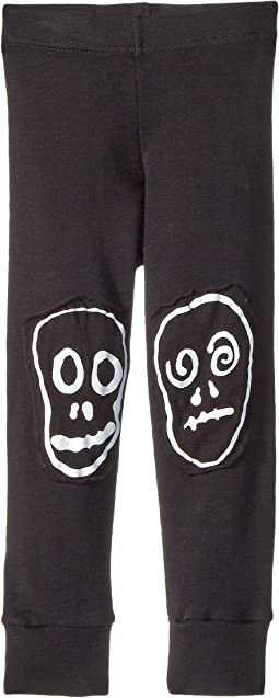 Nununu - Skull Mask Patch Leggings (Infant/Toddler/Little Kids)