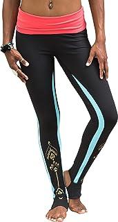 Gaiam Apparel Womens Avalon Foldover Legging