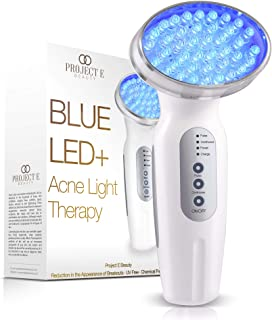 Project E Beauty Blue LED+ Acne Light Therapy | 415nm Blue Photon Beauty LED Therapy Anti Acne Spot Scars Removal Reduce I...