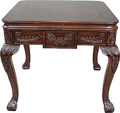 Medium Brown NES Furniture nes10018 28 Fine Handcrafted Furniture Solid Mahogany Wood Gerardo Dressing Table