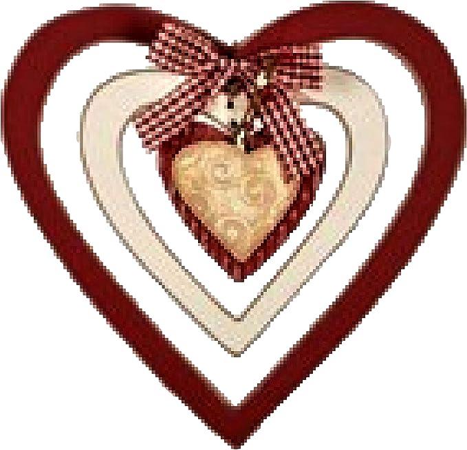 8 Round Love Valentine/'s Day Wreath Sign