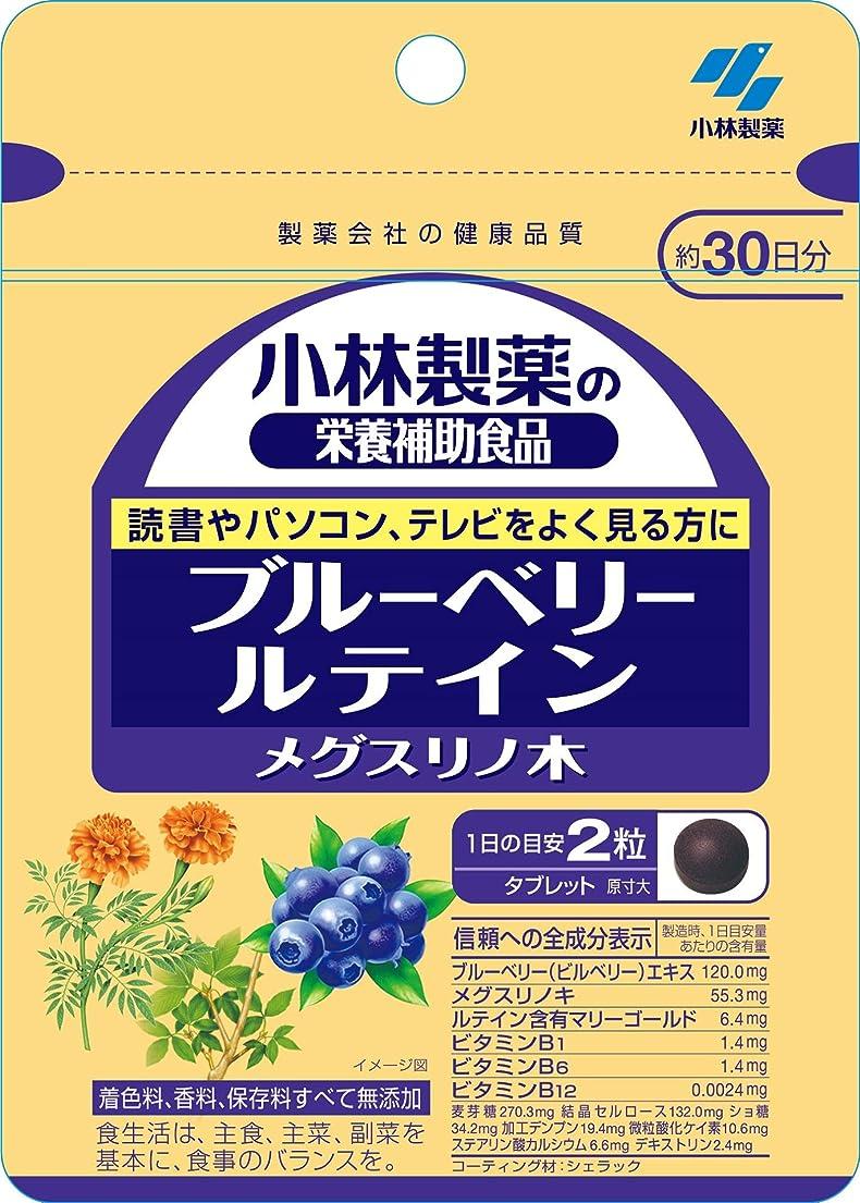 主どこか寝室を掃除する小林製薬の栄養補助食品 ブルーベリールテイン メグスリノ木 約30日分 60粒