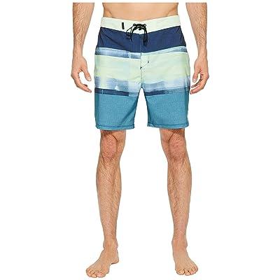 Hurley Phantom Roll Out 18 Boardshorts (Noise Aqua) Men