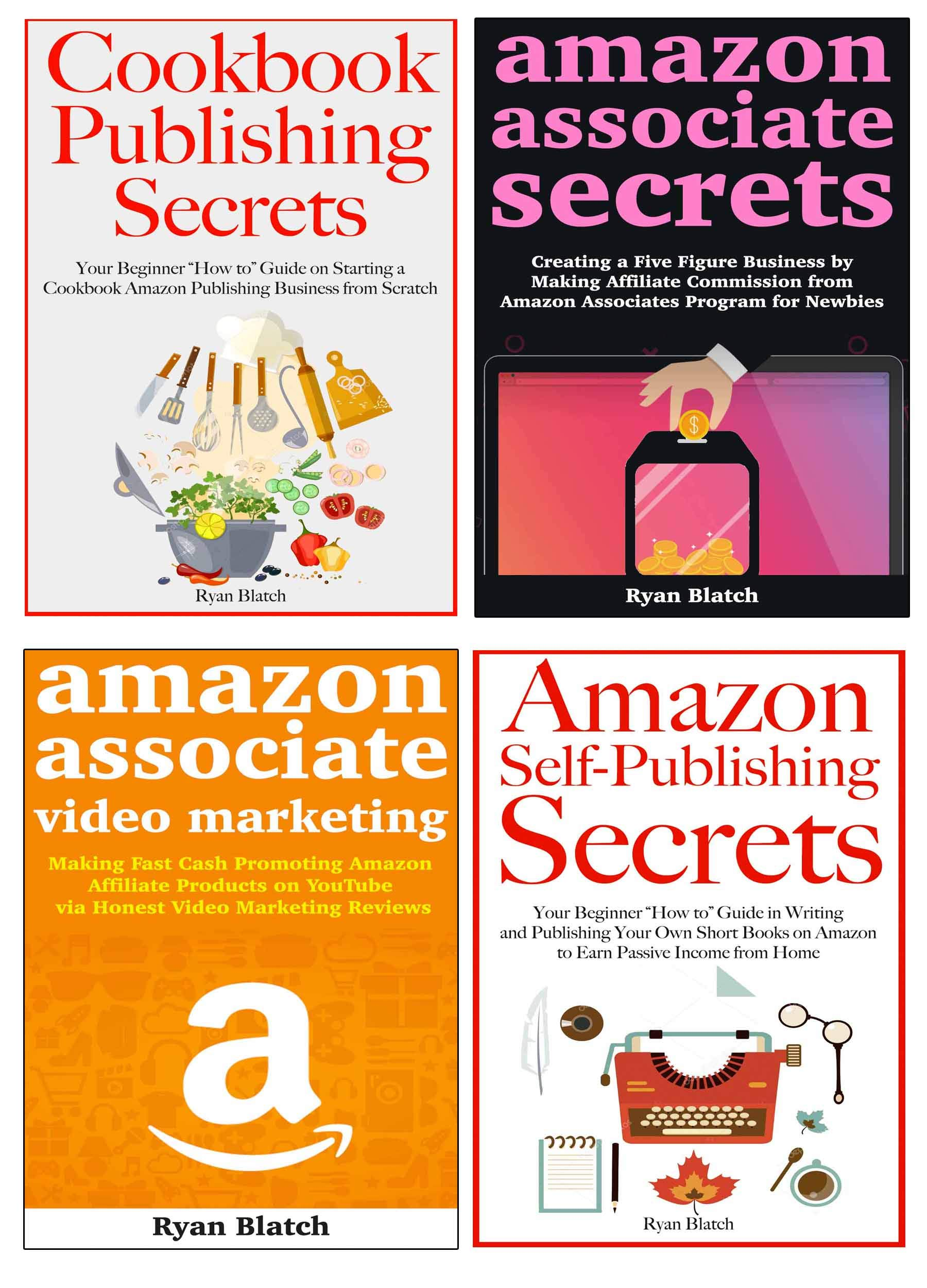 Amazon Profit Secrets (Online Based Business Bundle for Amazon Marketing): Making a Living and Nice Profits from 4 Amazon Based Business Models Perfect for Beginners Without Huge Capital