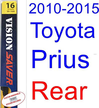 2010-2015 Toyota Prius Wiper Blade (Rear) (Saver Automotive Products-Vision