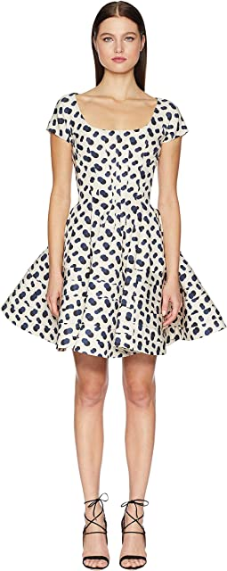 Polka Dot Printed Dress