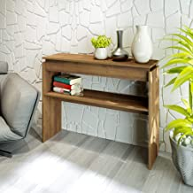 Artely Wooden Console Table, Pine Brown