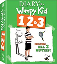 The Diary of a Wimpy Kid - 1, 2 & 3
