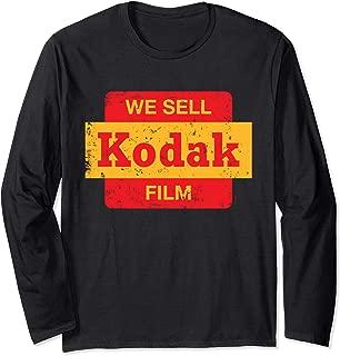kodak long sleeve shirt
