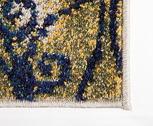 Alfombrista Motivo 17Tappeto Moderno 60x110x1 cm Multicolore