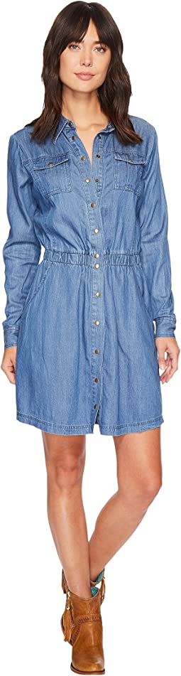 Stetson - 1406 Tencel Western Style Shirtdress