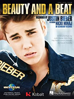 Justin Bieber - Beauty And A Beat - Piano/Vocal Sheet Music