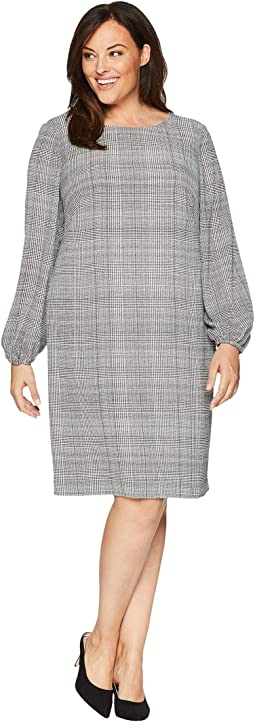 Plus Size Hollyann Long Sleeve Day Dress