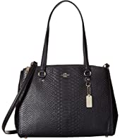 COACH - Stamped Snakeskin Stanton Carryall