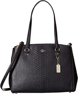 Stamped Snakeskin Stanton Carryall