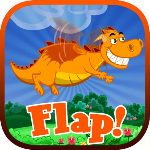 Flap! - help the dragon to fly like an angry flappy bird, lol, pure fun