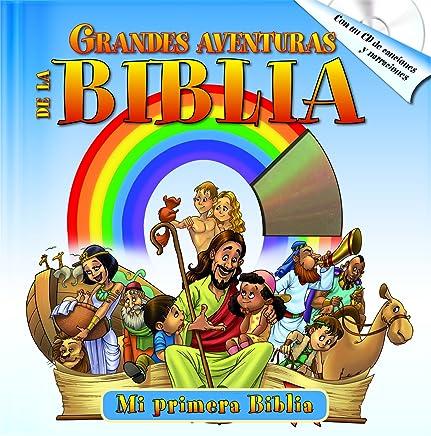 Grandes Aventuras de la Biblia with audio CD: Las mejores historias bíblicas acompañado de un