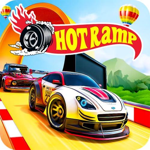 Hot Car Stunts: Mega Ramp Car Racing Games 3D Race Off Challenge