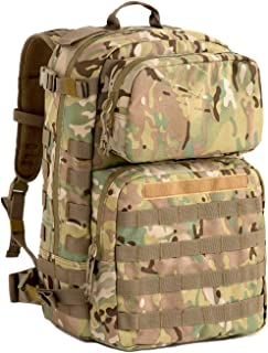 MT US Military FILBE Assault Pack with Assault Pouch, Army Tactical Rucksack Backpack Multicam