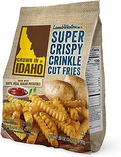 Grown in Idaho Super Crispy Crinkle Cut Fries, 28 oz (Frozen)