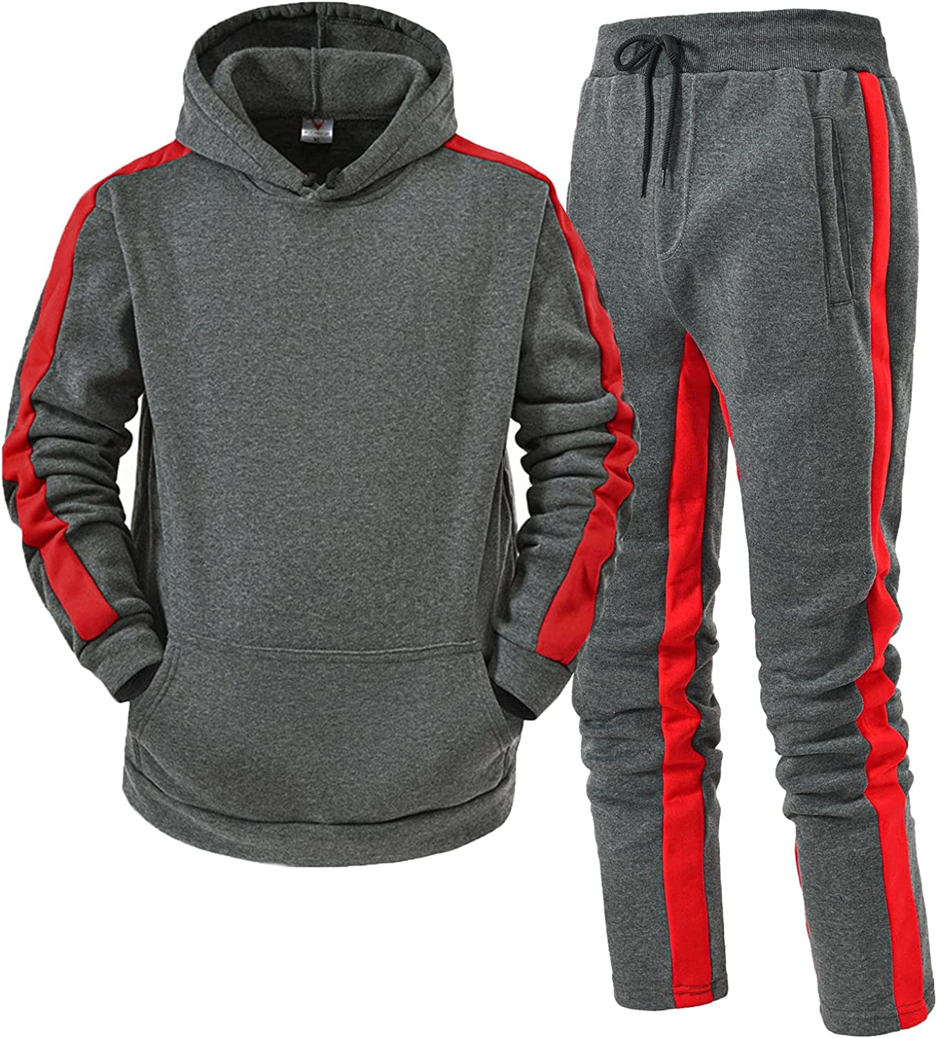 haoricu Men's Pullover Tracksuit Set Casual Popularity Jog Outfits 2 Branded goods Pieces