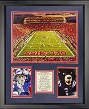 Legends Never Die Ole Miss Rebels - Vaught-Hemingway Stadium Framed Photo Collage, 16