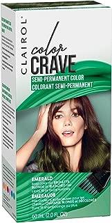 Clairol Color Crave Semi-permanent Hair Color, Emerald, 1 Count