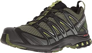 Salomon Men's XA PRO 3D Trail Runner, Chive, 13 M US