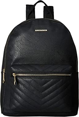 Chevron Front Pocket Dome Backpack